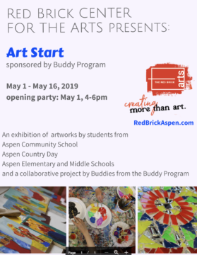 ACS Student's artwork on display at the Red Brick….coming soon!